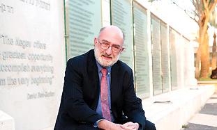 'PAPER SHUFFLER' Prof. Sander Gilman.