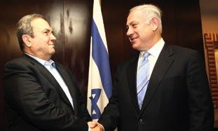 Netanyahu and Barak.