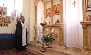 FATHER ROMAN RADWAN, an Israeli Arab born in Nazar