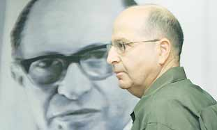 Strategic Affairs Minister Moshe Ya'alon (Ariel Je