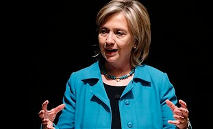 US Secretary of State Hillary Rodham Clinton (AP).