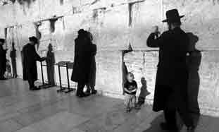 haredim at the kotel