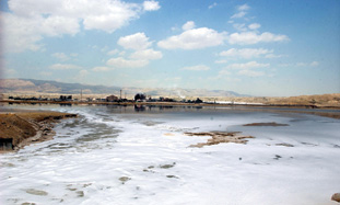 Dead Sea Drying Up