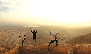 Sunrise at Massada