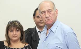 Olmert and Zaken in court