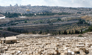 The cemetery on the Mt. of Olives, with some 60,00