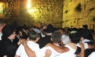 'RABBI BARUCH Chait and Rabbi Yitzhak Dor reached