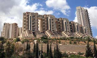 Holyland apartment complex