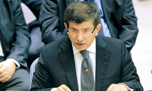 Ahmet Davutoglu, Turkeys foreign minister address