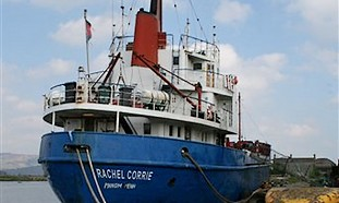 The MV Rachel Corrie
