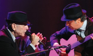 MORE THAN 50,000 Israelis attended Leonard Cohen's