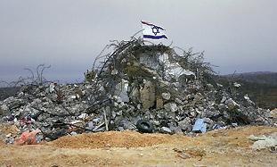 Evacuated Gush Katif settlement [file].