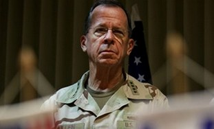 US chairman of the Joint Chiefs of Staff Admiral M