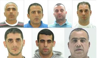 7 men suspected of helping drug dealers