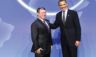 King Abdullah and Obama
