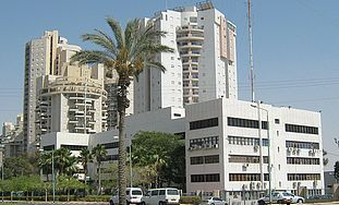 Apartment buildings in Beersheba