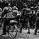 Australian Army marching in France in WWI