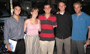 TAMID fellowship participants from the University of Michigan.