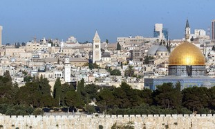 JERUSALEM: RESETTLED upon its desolation