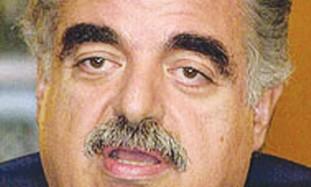 Slain Lebanese Prime Minister Rafik Hariri