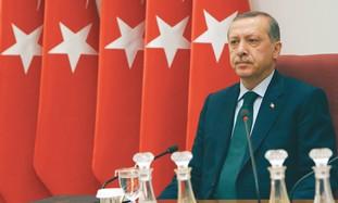 TURKISH PRIME MINISTER Recep Tayyip Erdogan.