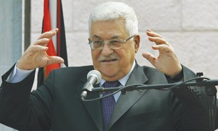PALESTINIAN AUTHORITY President Mahmoud Abbas. 'Making concessions to him is no different from makin
