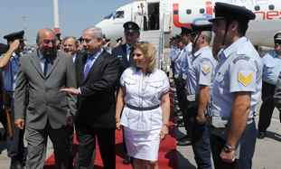 Visit of Prime Minister Benjamin Netanyahu in Athens, Greece.