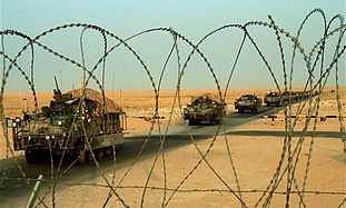 The last US combat brigades leave Iraq