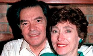 Leo Mascheroni and his wife Marjorie.