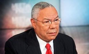 former Secretary of State Gen. Colin Powell, retir
