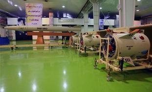Iran Fateh-110 missile.