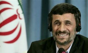 Iranian President Mahmoud Ahmadinejad in NY.