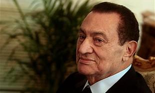Eyptian President Hosni Mubarak