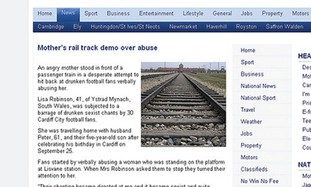 Controversial Auschwitz photo in train article