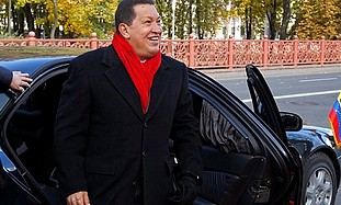 Chavez arrives in Belarus in October