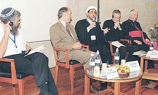 Rabbi Yuval Cherlow, Dr. Albert Lincoln, Sheikh Sa