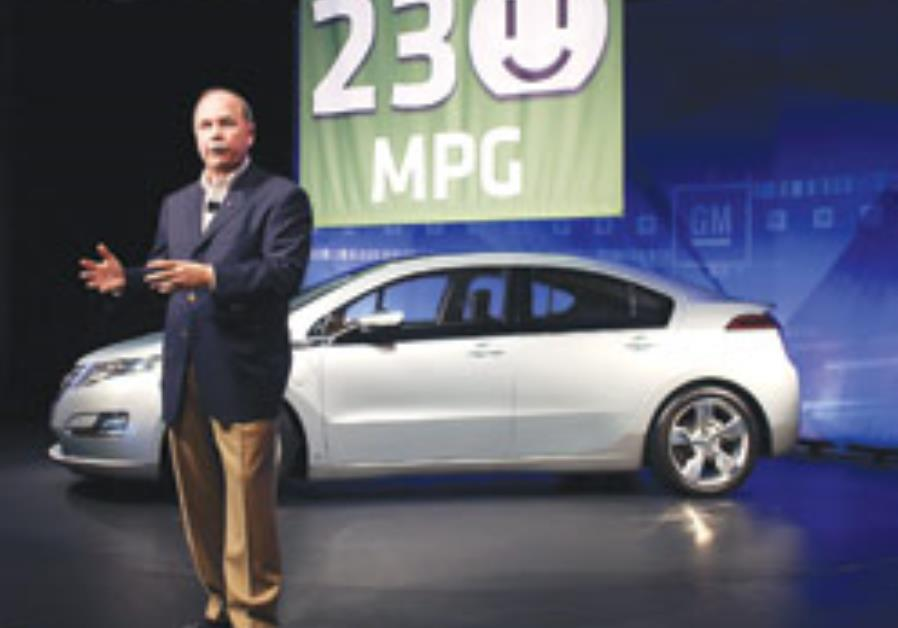 Fritz Henderson, GM's president and CEO, addresses