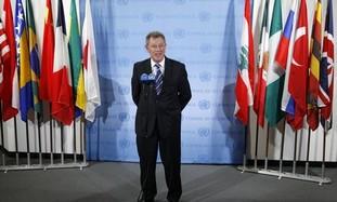 UN special envoy Robert Serry
