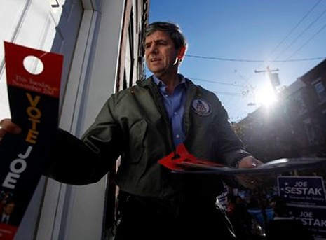 Pennsylvania Senate candidate Joe Sestak (D)