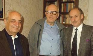 Alexander Lerner, Andrei Sakharov and Isi Leibler