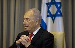 President Shimon Peres.