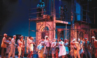 THE CAST of 'Porgy and Bess'