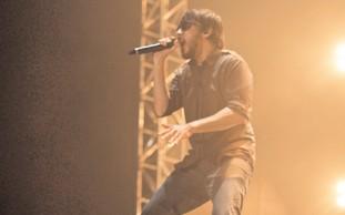 Linkin Park performs at Park Hayarkon, Nov. 15.