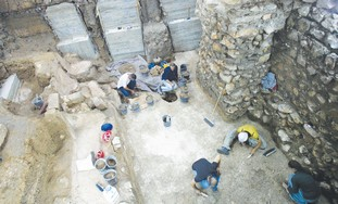 THE NEWLY excavated bath will better historians' u