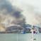 Smoke rises from South Korea's Yeonpyeong Island.