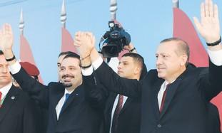 Saad Hariri, Recep Tayyip Erdogan