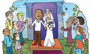 Intermarriage cartoon