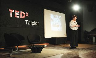Maurit Beery of Alyn Hospital speeks to TEDx