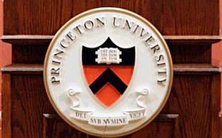 The seal of New Jersey's Princeton University.