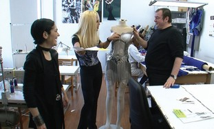 Behind-the-scenes with fashion icon Donatella Vers